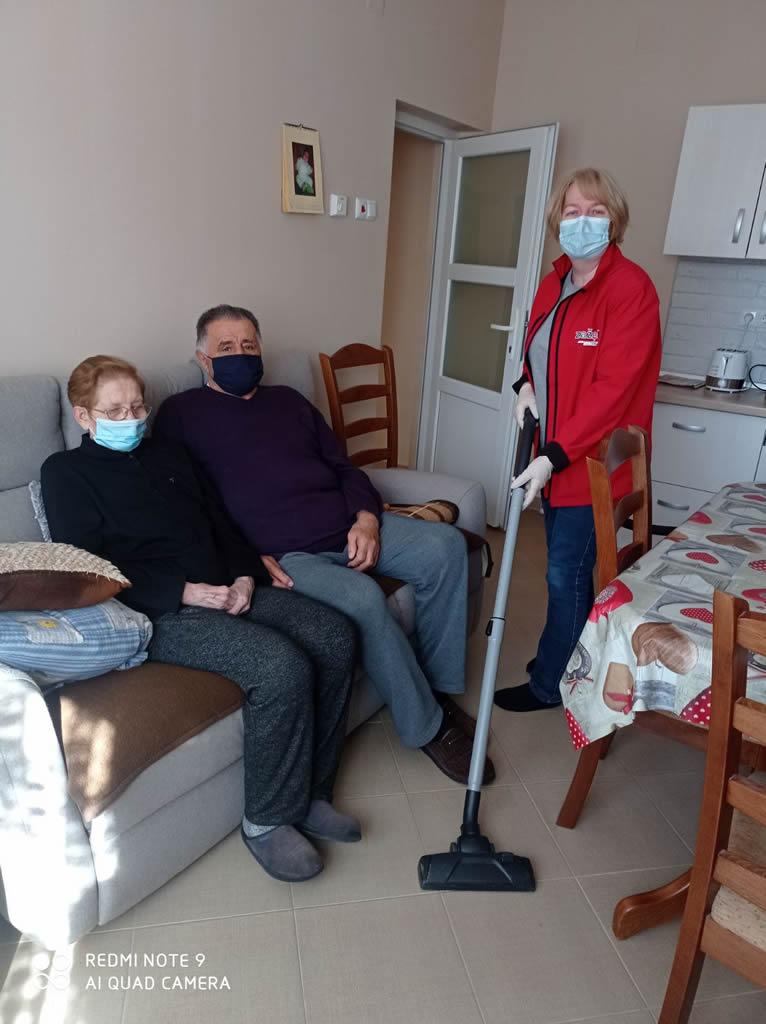 Pomoć u održavanju čistoće